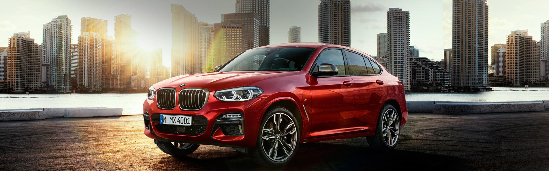 Запчасти на BMW X4